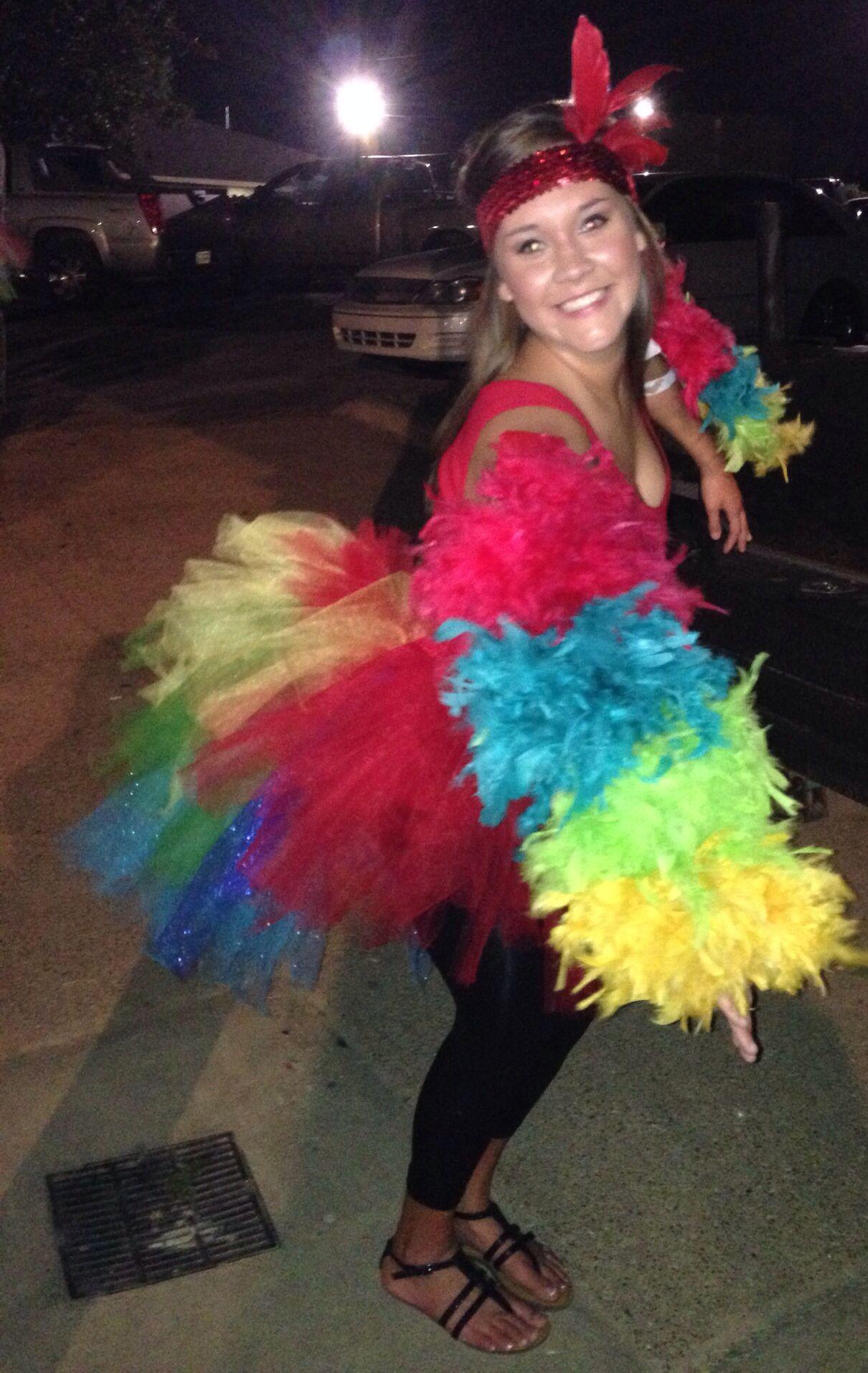 Homemade Costume. Parrot …  5b1bd49f86
