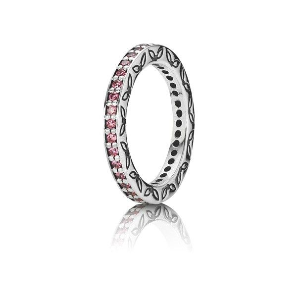 anillo pandora con amatista