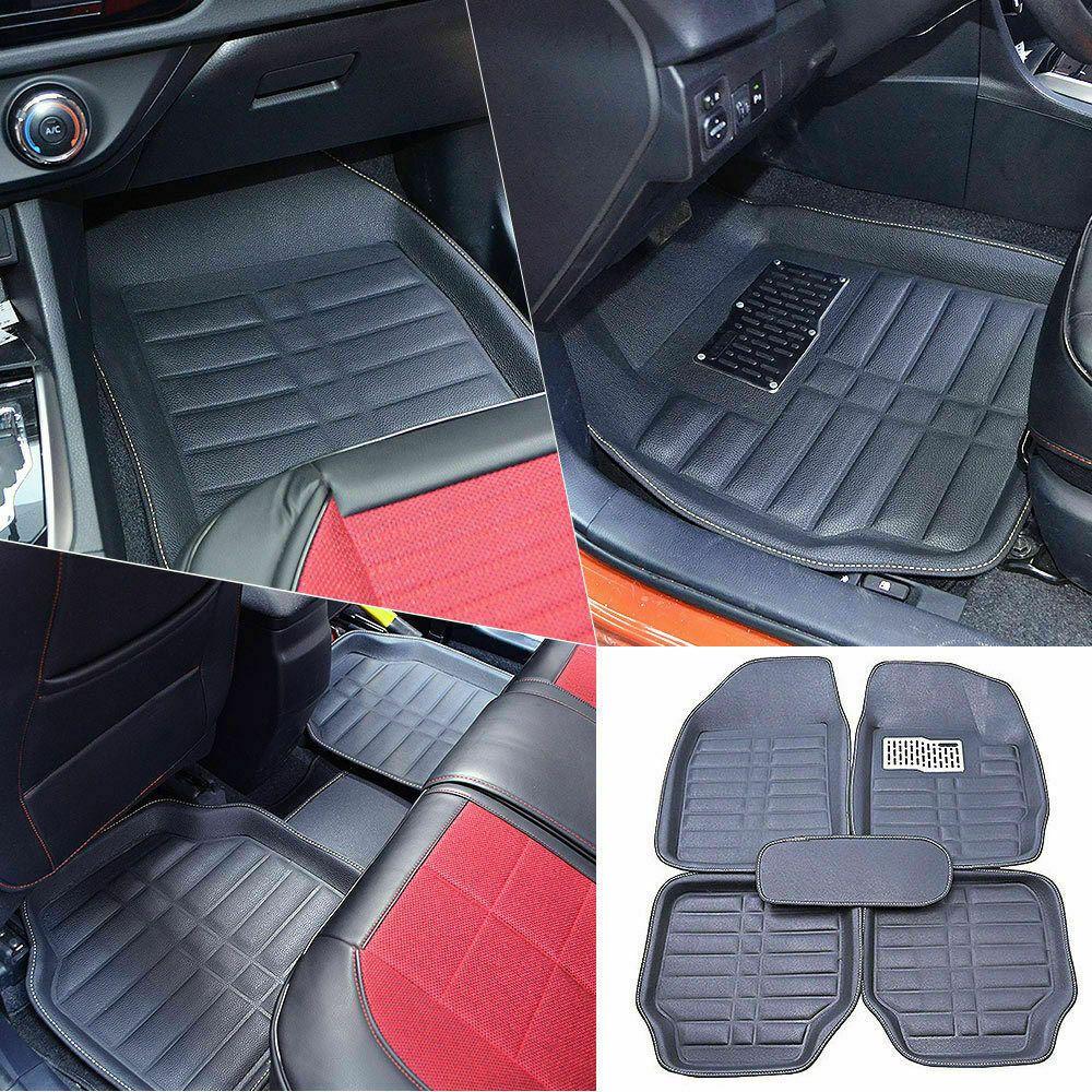 Us Universal Car Floor Mats Carpets All Weather Front Rear Liner Pad Waterproof In 2020 Car Floor Mats Floor Mats Car