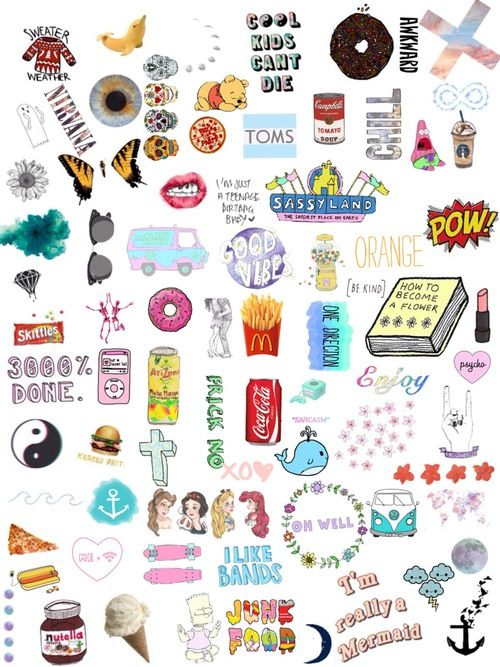 all of these are my life  all of them