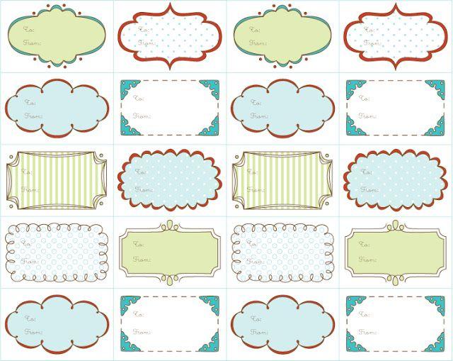 Free printable christmas gift tags from delightful distractions free printable christmas gift tags from delightful distractions negle Gallery