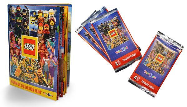 Exclusivité Toys R Us : Album de collection et jeu de cartes LEGO ...