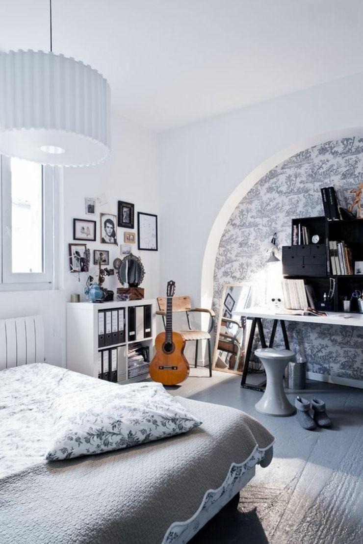 Loft industriel au design int rieur d inspiration bordeaux les chambres d 39 enfant modern - Chambre style loft industriel ...