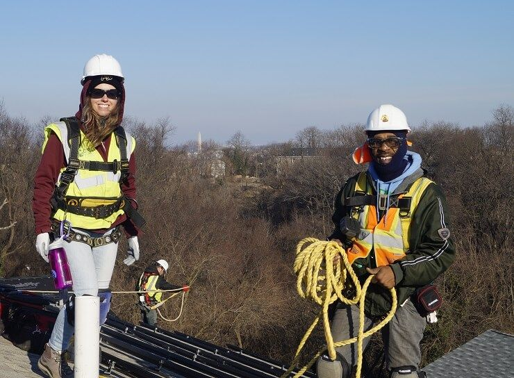 Grid trains nations capital for a bright future in solar