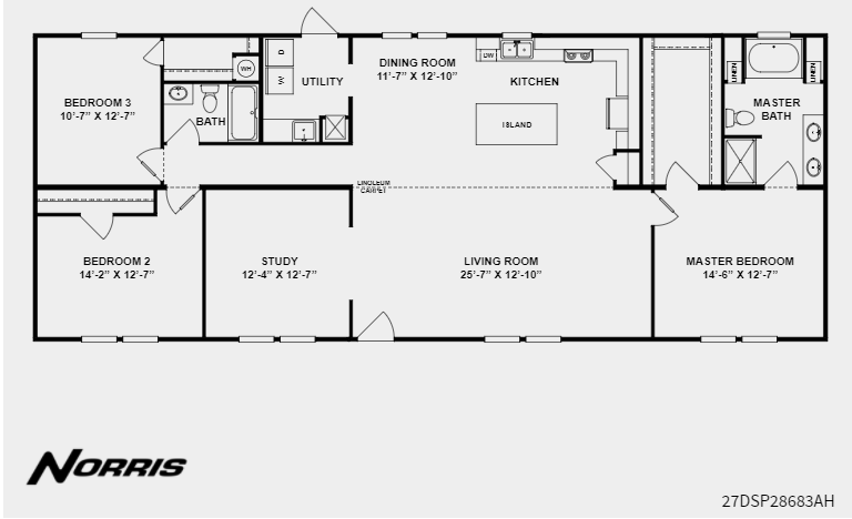 Clayton Homes Norris The Treyburn Clayton Homes Floor Plans House Plans