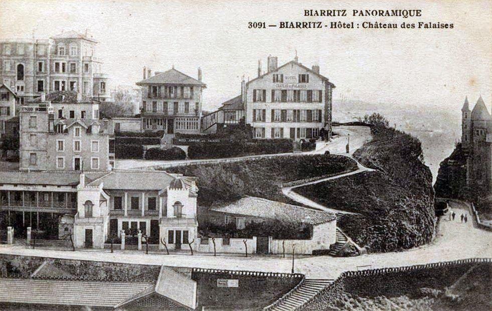 Hotel Des Falaises St Palais