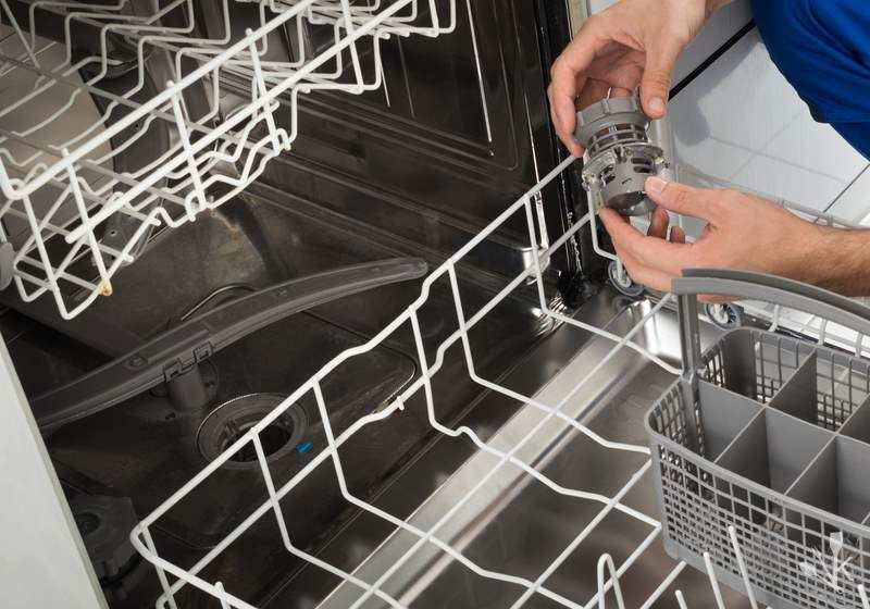 How To Unclog A Dishwasher Drain Kitchensanity Clogged Dishwasher Clean Dishwasher Unclog Dishwasher