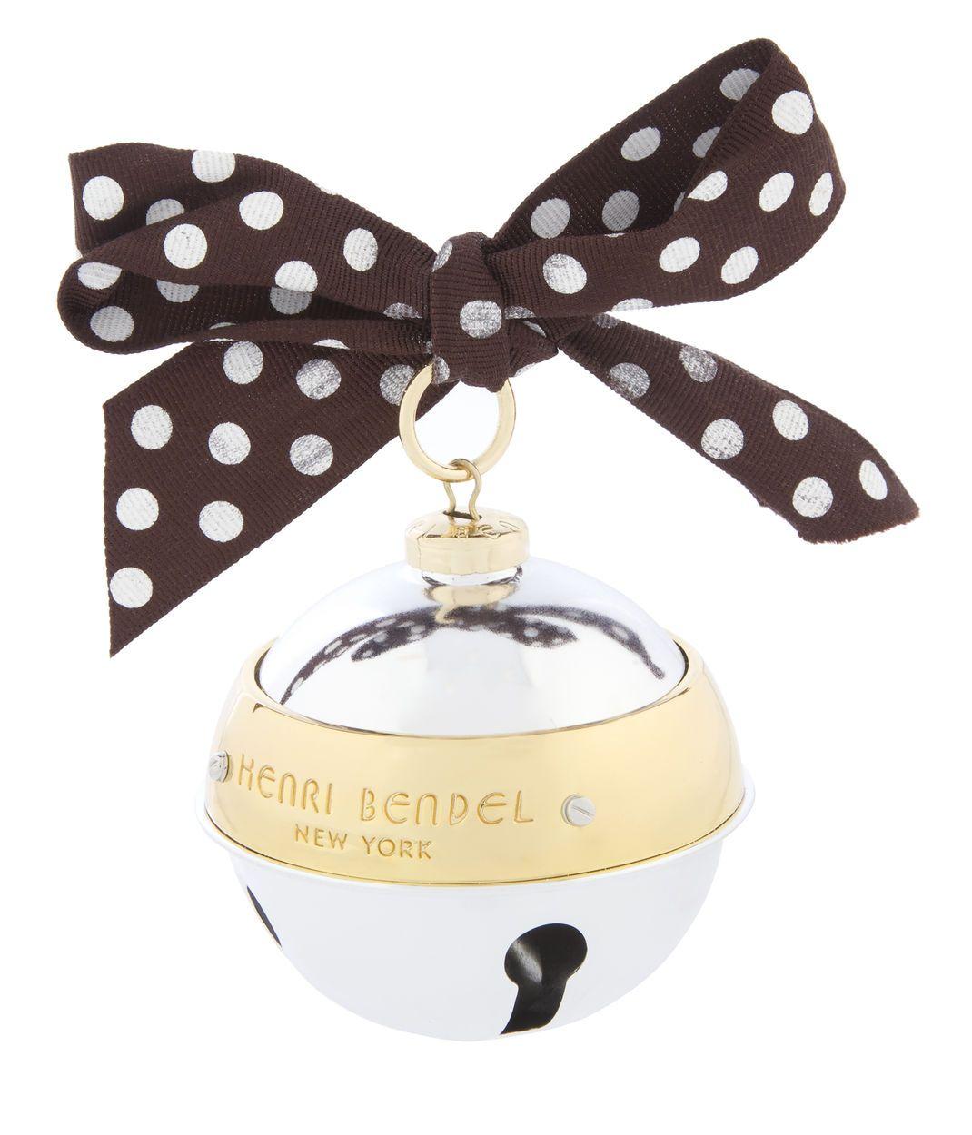 Henri Bendel Bell OrnamentHenri Bendel Bell Ornament | The Ultimate ...