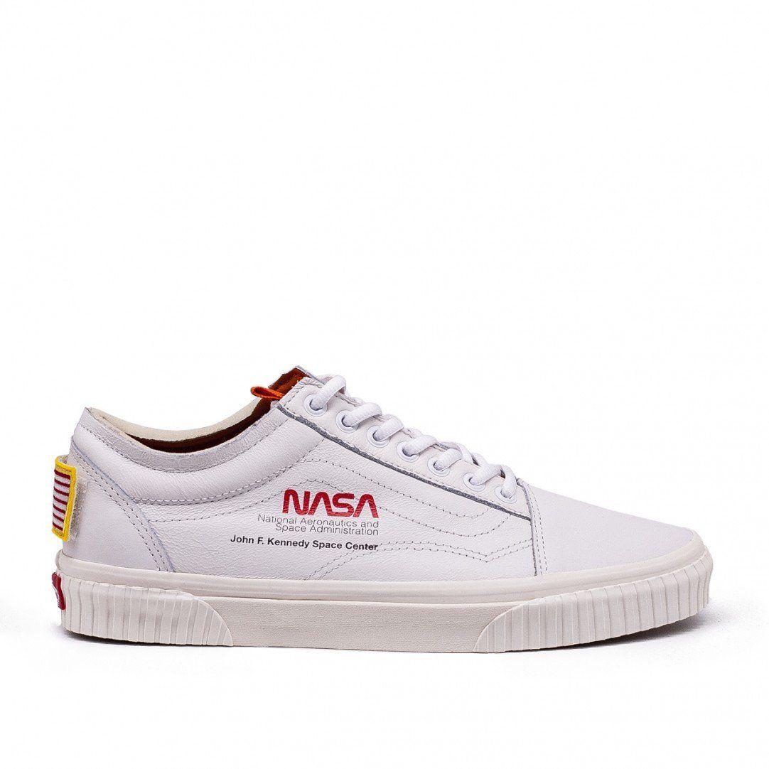 Vans x NASA Old Skool (White) | Nasa, Vans, Old skool