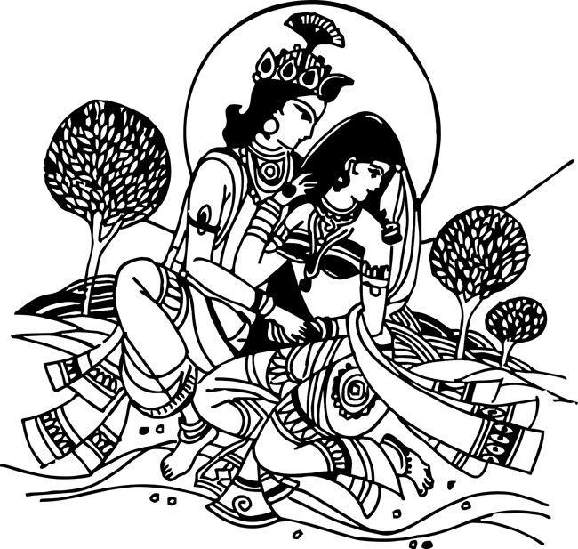 Pen Art Drawings Hindu Art Art Diary