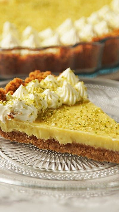 Key Lime Pie Delicioso ~ Receta
