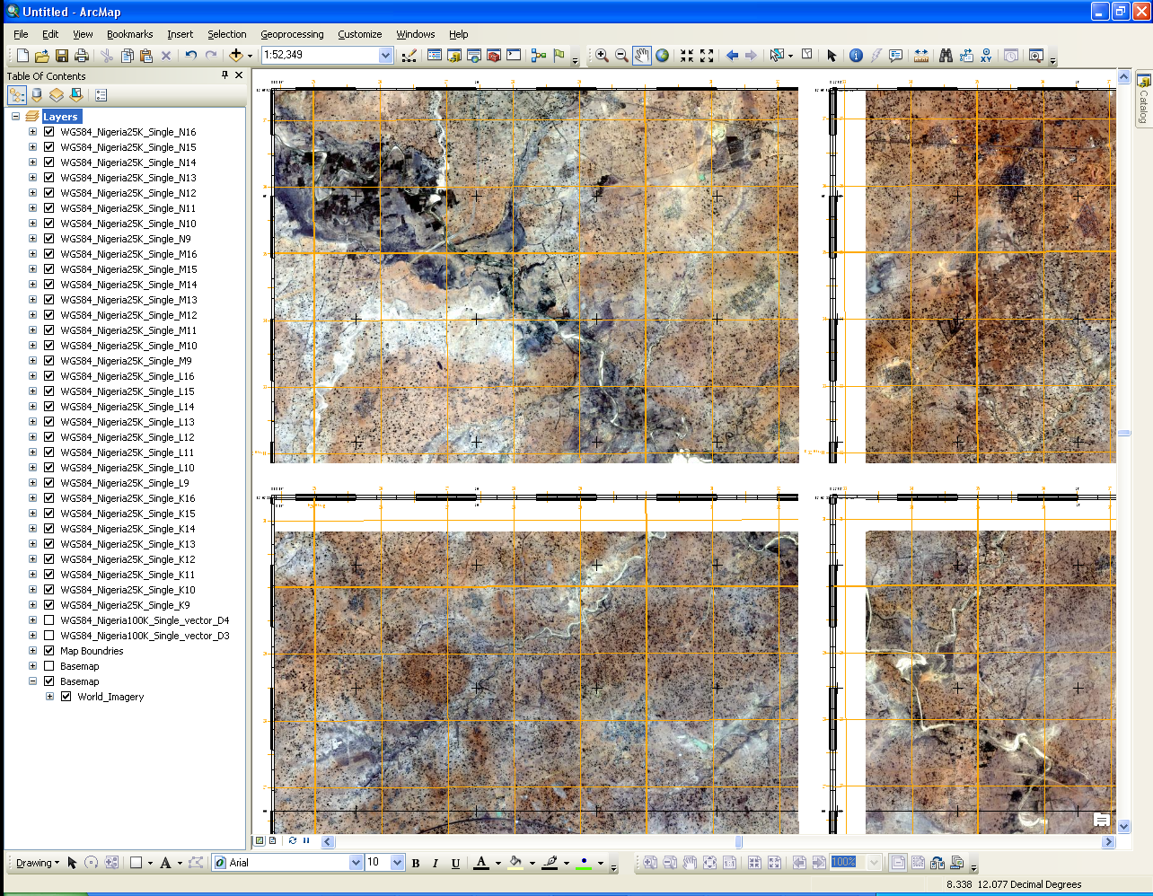 define map grid and graticule styles | Cartography | Grid ... on