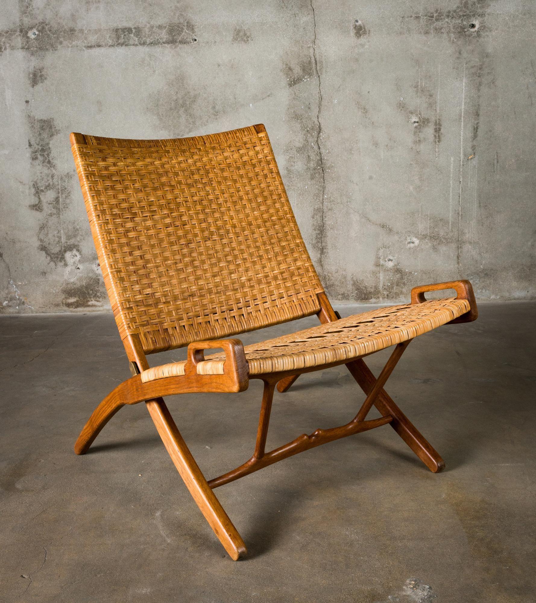 Hans Wegner Folding Chair For Sale At 1stdibs Chair Folding