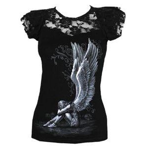 Spiral Direct Women's Enslaved Angel Viscose Top (Black)