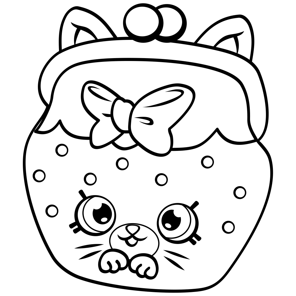 Shopkins Coloring Pages Shopkins Shopkin coloring