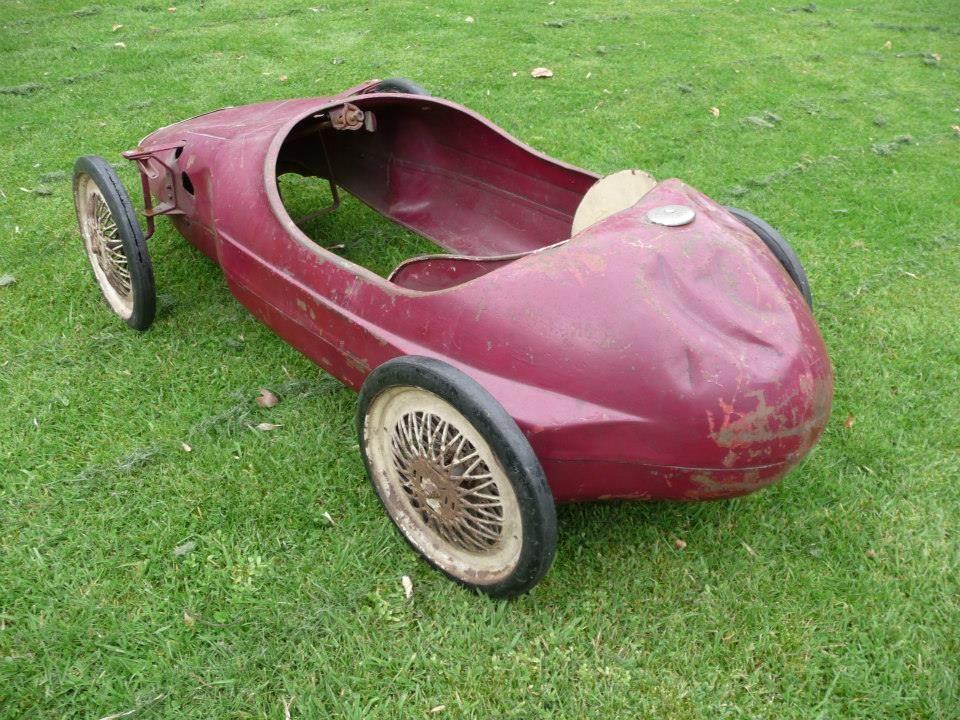 1960s Tri-ang Grand Prix Racer Pedal Car - http://www.ebay.co.uk/itm ...