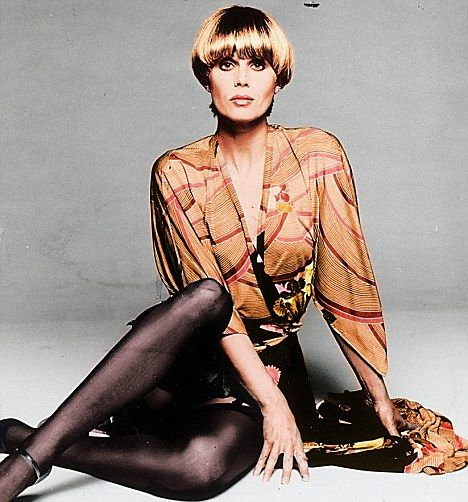 Joanna Lumley as 'Purdey' in The New Avengers, television ...