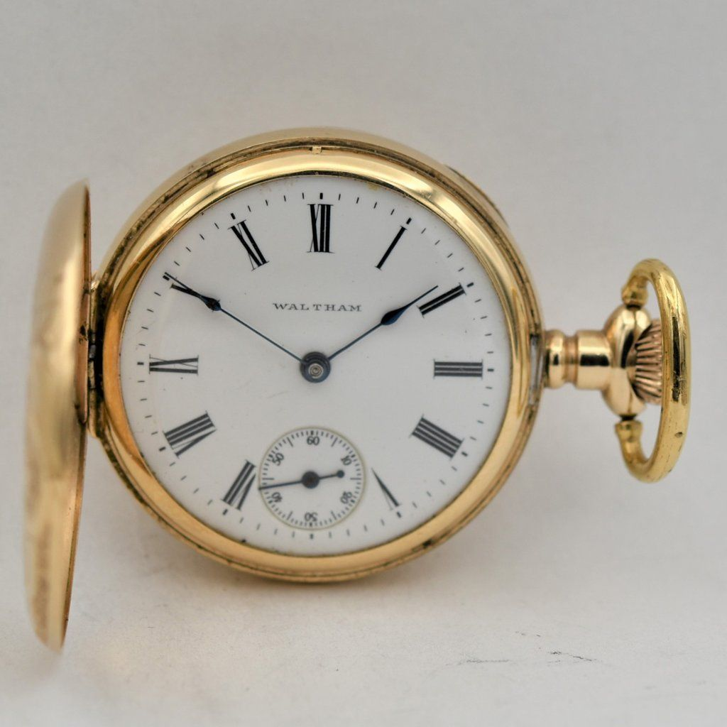 9a51503b4 WALTHAM 14K GOLD Lady's #pocketwatch Pocket Watches - Ashton-Blakey Vintage  Watches