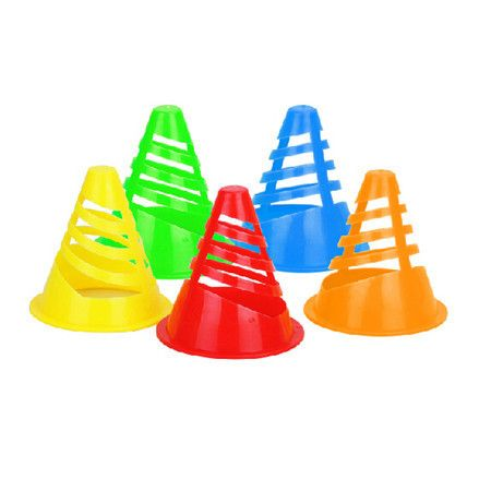 20 Pcs Soft Windproof Roller Skating Cone for SEBA for Cones High Quality Roller Skates Cups Athletic Products