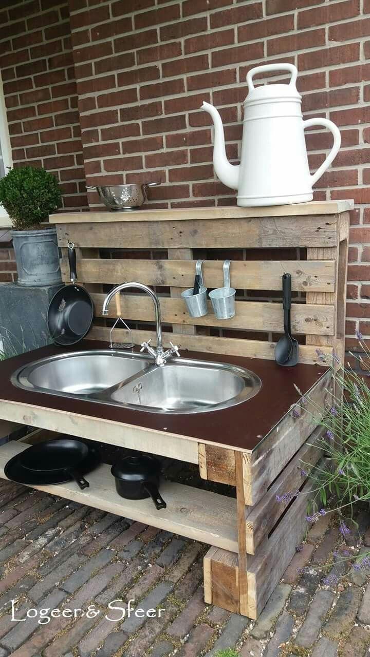 Outdoor Kitchen With Pallets Outdoor Kitchen Build Outdoor Kitchen Outdoor Kitchen Design