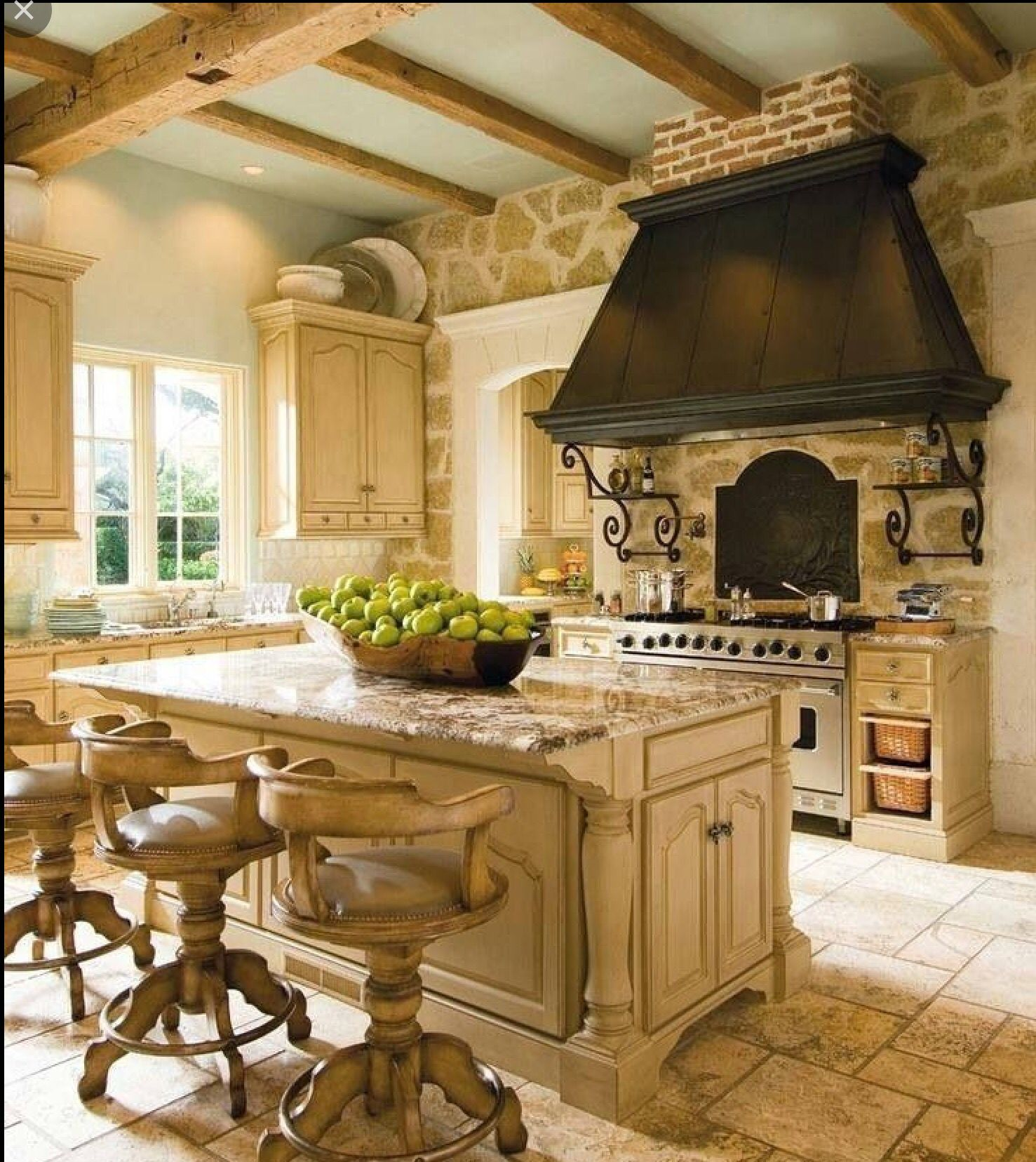 16 Stunning Designs Of French Country Kitchens Amusing French Country
