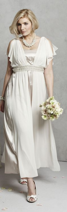 Wedding Dresses For Plus Size Brides Over 50