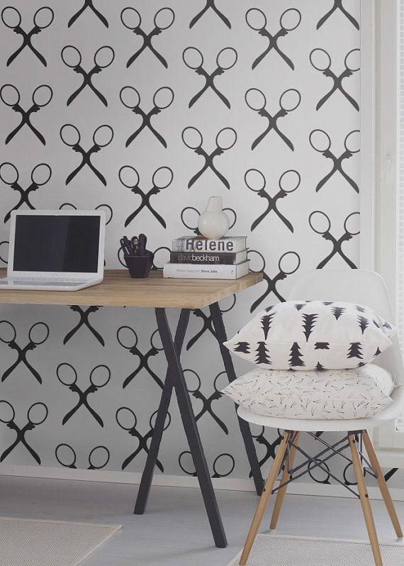 fond d 39 cran amovible temporaire de vinyle auto adh sif d calque de mur ciseaux mod le. Black Bedroom Furniture Sets. Home Design Ideas