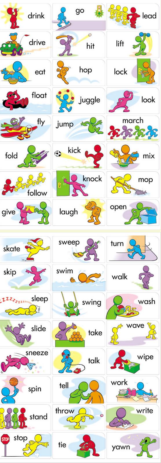 Tarjetas De Verbos En Ingles 2 Verbos Ingles Vocabulario En Ingles Fichas Ingles