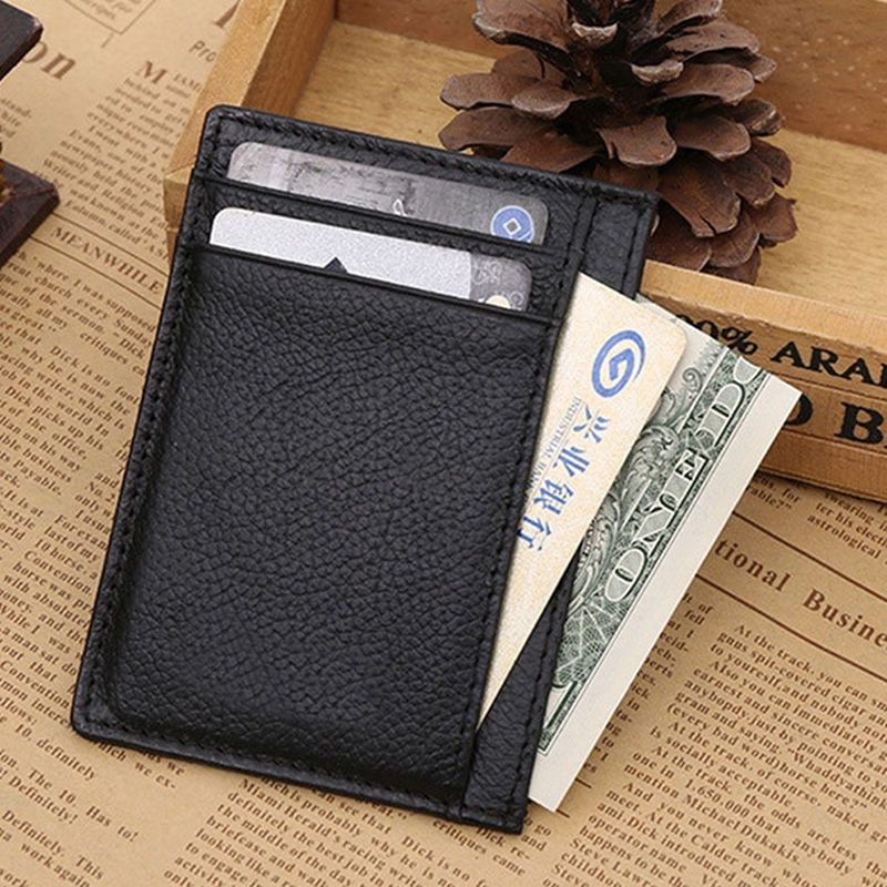 Hot Sale Wallet Money Clip Credit Card Holder Id Business Leather ...