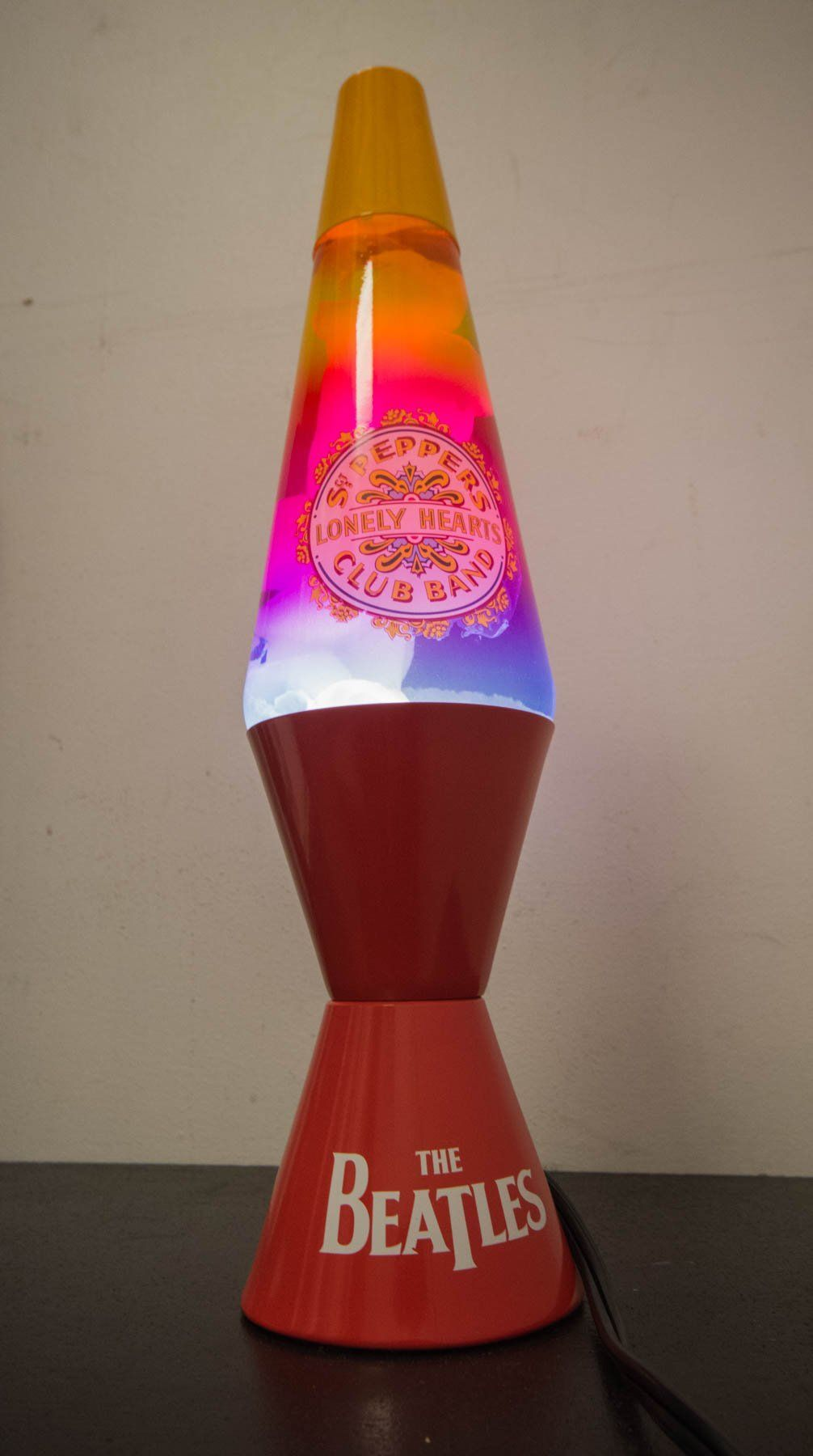 Lava Lamp Beatles Sgt Pepper S Lava Lamp Lamp Lava