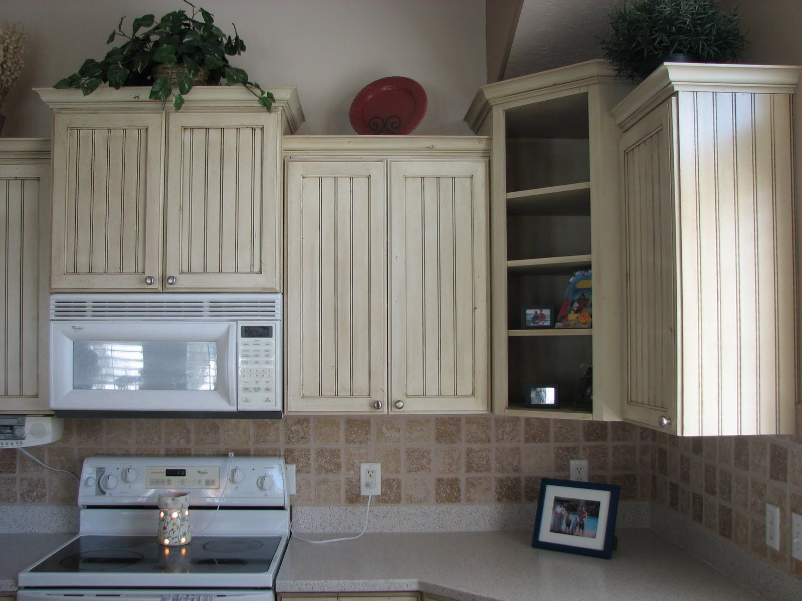 Idea For Refinishing Old Cabinets Beadboard Kitchen Budget Kitchen Remodel Kitchen Cabinet Remodel