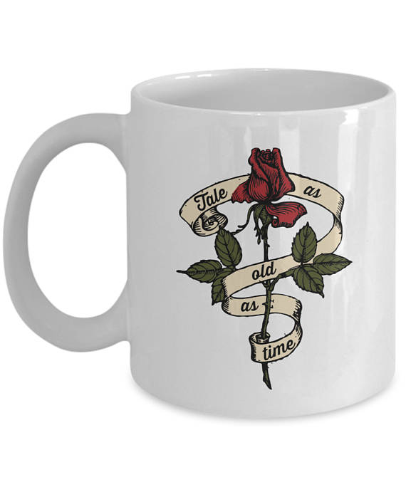 The Mug As And Tale Time Tattoo Rose Old Beauty Enchanted vIYfy6mbg7