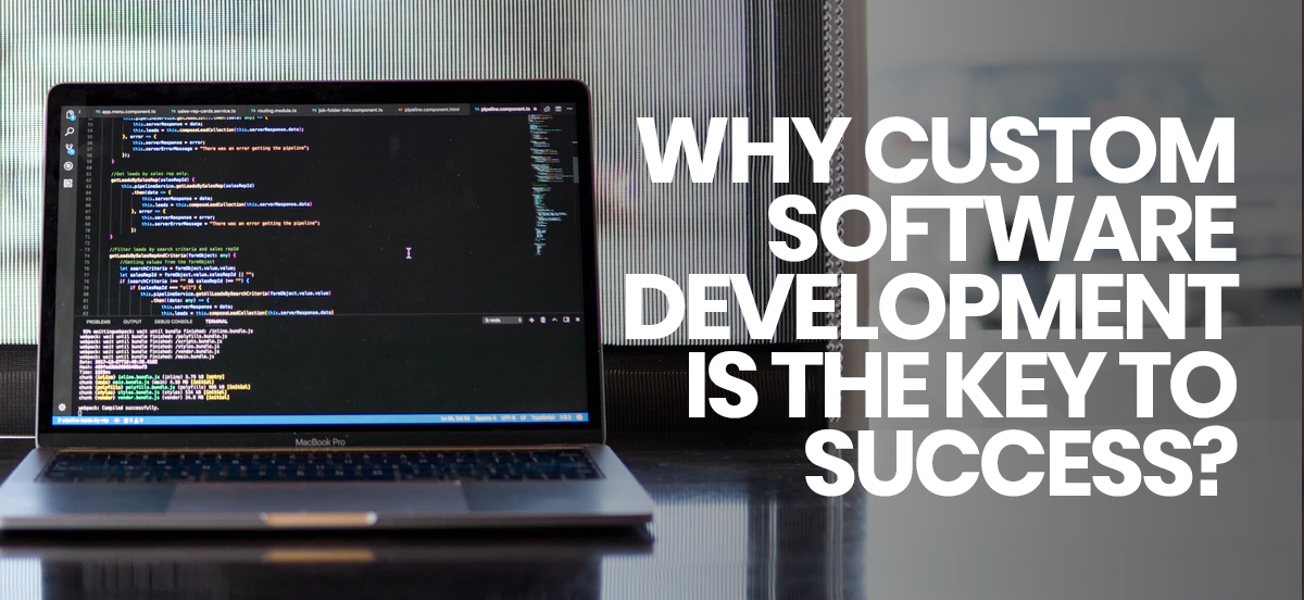 Why custom software development is the key to success?