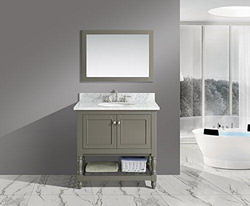 Urban Furnishing Silvia 36 In Single Bathroom Vanity Set With ... Single Badezimmer