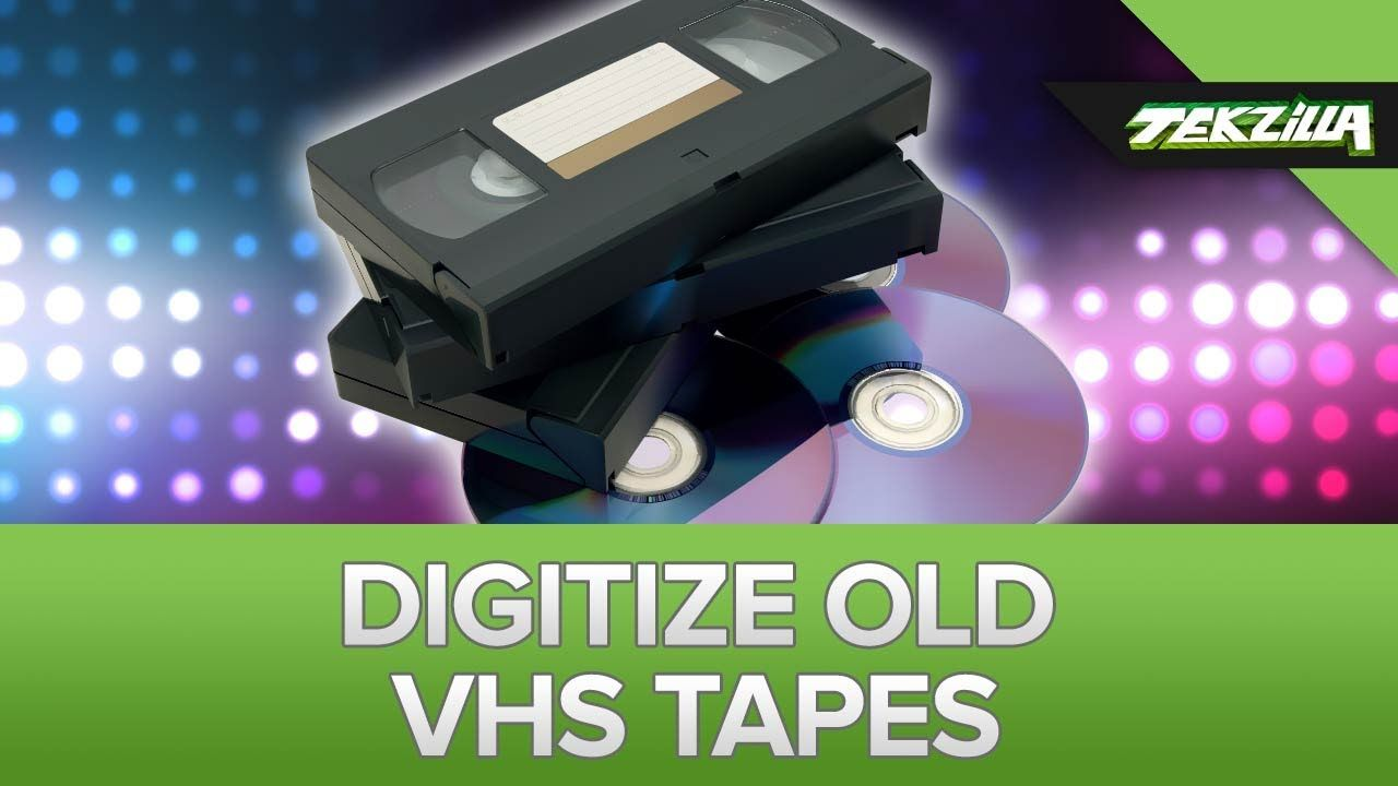 Digitize Your Old VHS Tapes | video | Vhs tapes, Vhs to dvd