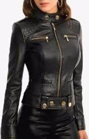 Resultado de imagen para moda en chaquetas de cuero para dama ... 5512e881d2be
