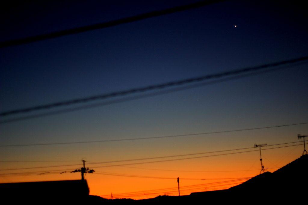 CANON(キヤノン)のカメラ Canon EOS 60Dで撮影した(明けの明星)の写真(画像)