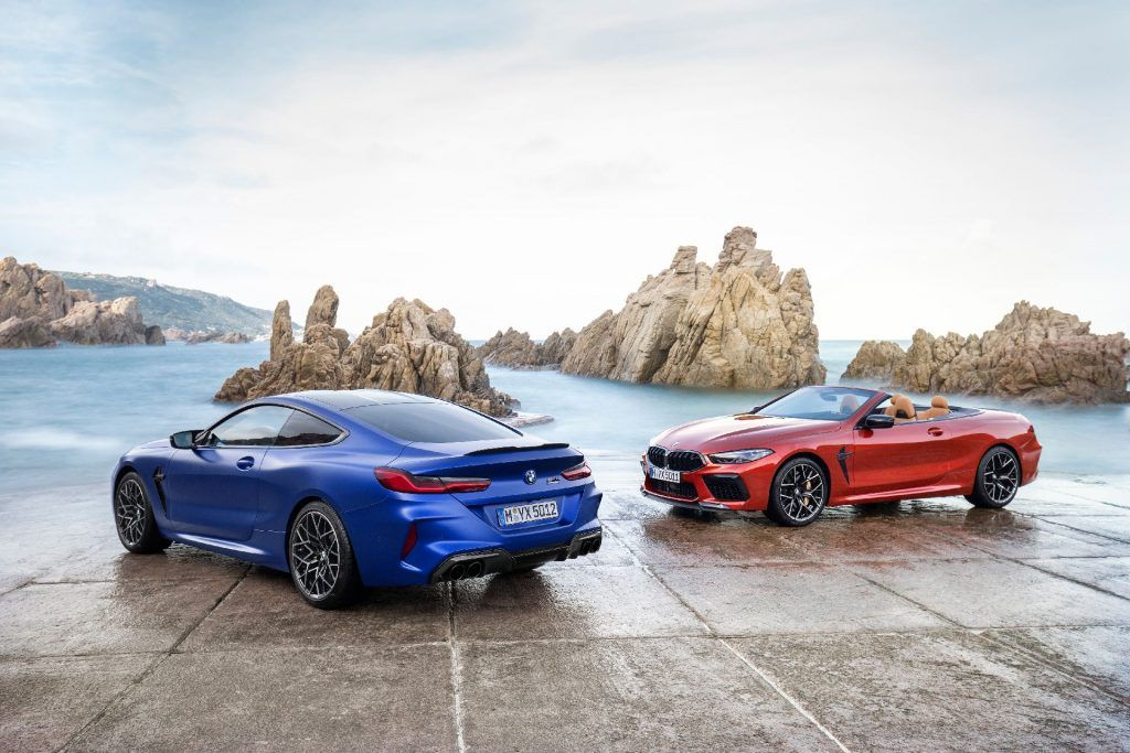 Bmw M8 And M8 Competition Finally Revealed With Most Powerful M
