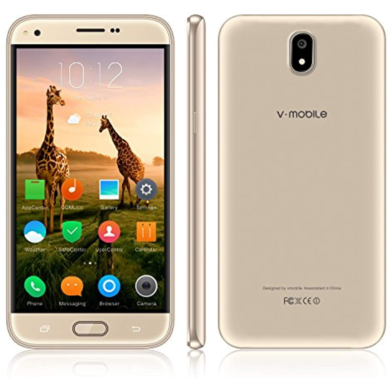 Unlocked Cell Phone,V Mobile J5N 5.5 inch 8GB ROM Android