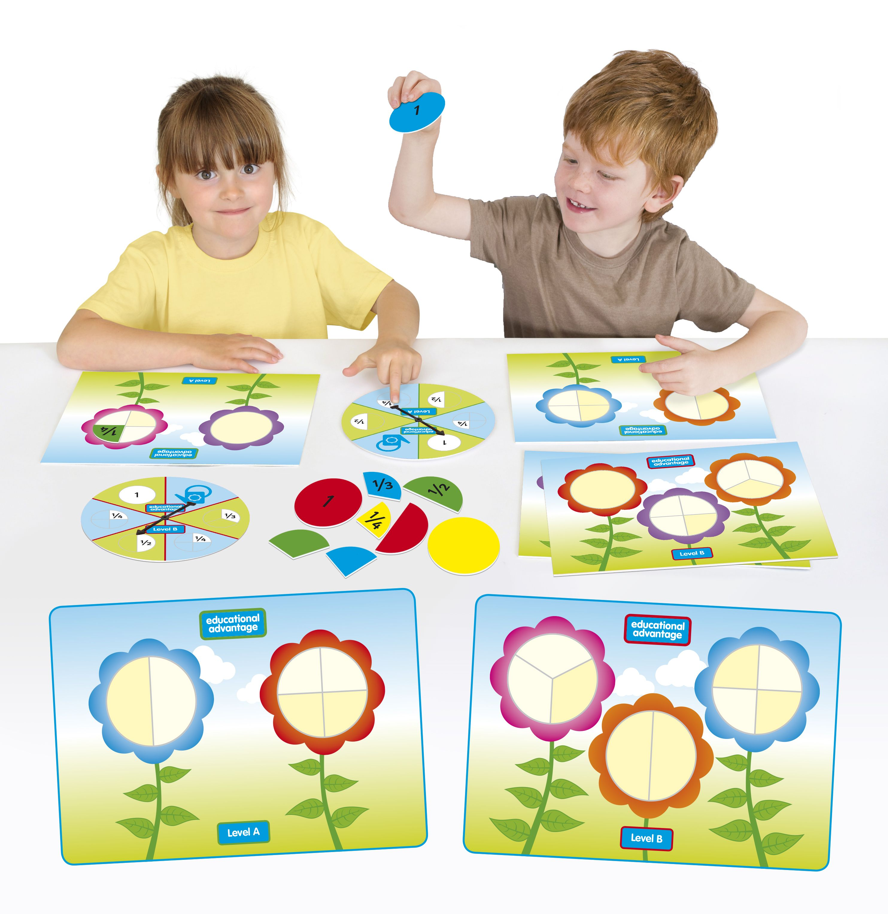 Fraction Flowers Ea 48 A Great Game For Introducing
