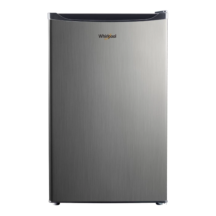 Whirlpool 4 3 Cu Ft Mini Refrigerator Stainless Steel Bc 127b