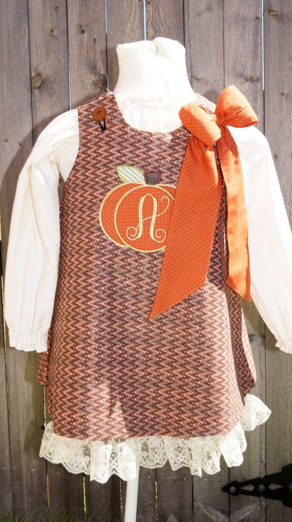 Reversible Halloween/Thanksgiving A-line dress