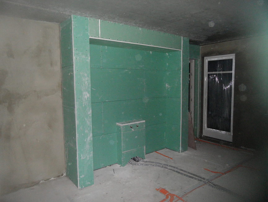 Trockenbau Badezimmer Badezimmer Mit Der Trockenmauer Badezimmer