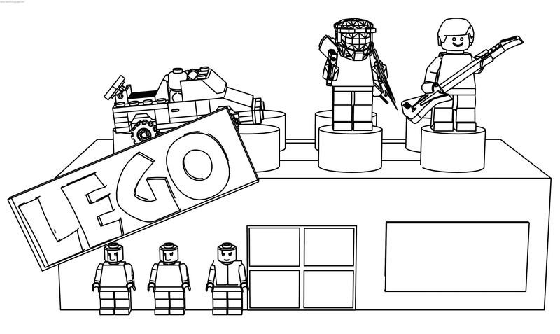 Lego Store Coloring Page Lego Store Family Coloring Pages Pokemon Coloring Pages