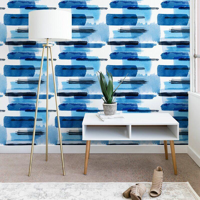 Ninola Peel And Stick Wallpaper Panel Allmodern In 2020 Wallpaper Panels Peel And Stick Wallpaper Decor