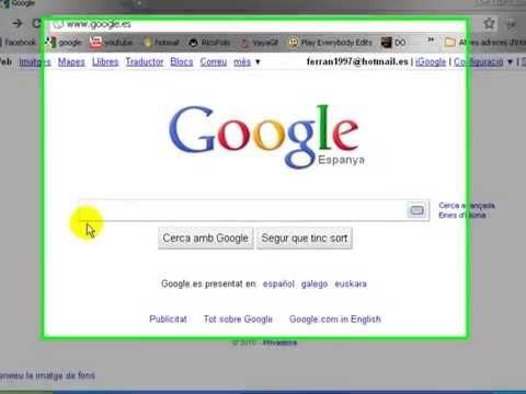 Tutorial Poner Tu Nombre En Vez De Google Y 6 Trucos Mas Nombres Google Nombre