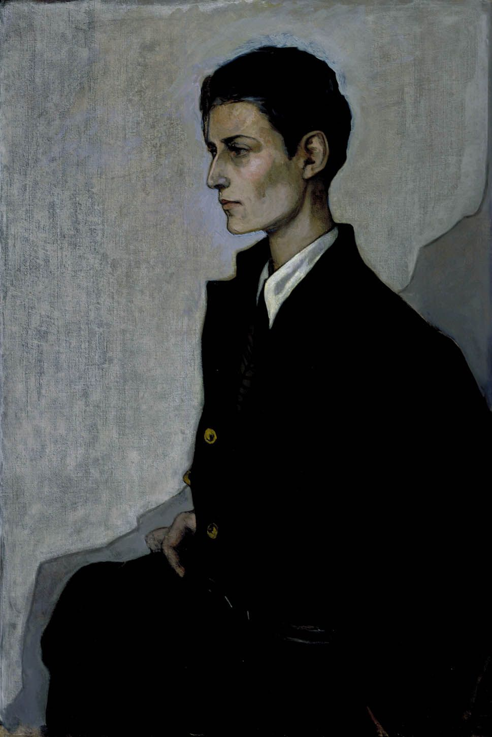 Bibicapella Romaine Brooks Peter A Young English Girl - Famous art museums in usa