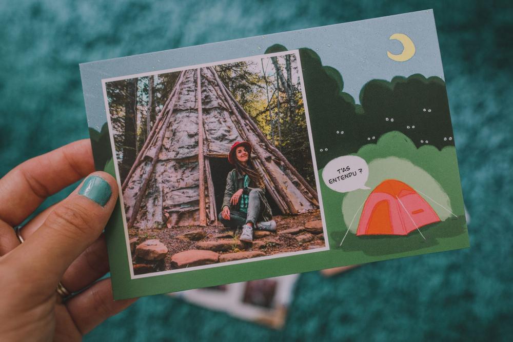 J'ai testé Fizzer, l'application qui transforme nos photos de voyage en cartes postales ...