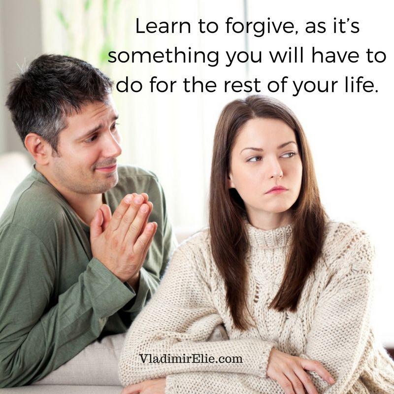 Perhaps forgiveness is a life skill!
