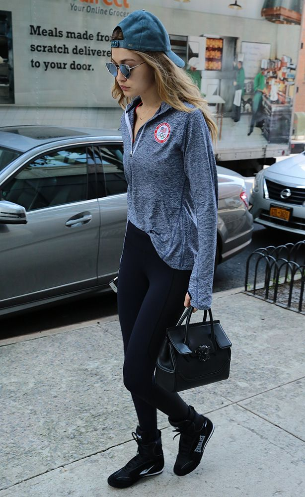 Just Can't Get Enough: Gigi Hadid and Her Versace Palazzo Empire Bag